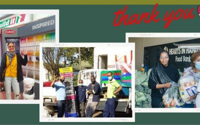 THANK YOU TO OUR PARTNERS FOR DONATING TO COMMUNITIES WHO NEED IT MOST